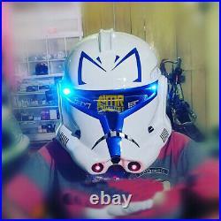 Top Helmet Captain Rex stormtrooper Starwars motorcycle Dot and ECE