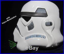 Ukswrath's Stormtrooper helmet Audio System withVoice Modulation