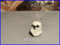 VTG Star Wars LUKE SKYWALKER STORMTROOPER HELMET NO REPRO POTF LAST 17