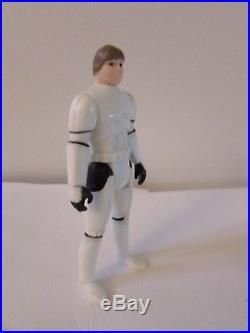 Vintage 1984 Star Wars Original HELMET BLASTER LUKE STORMTROOPER LAST 17