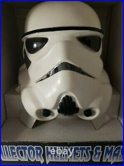 Vintage Don Post 1996 Star Wars Collector Helmet Stormtrooper W Original Box