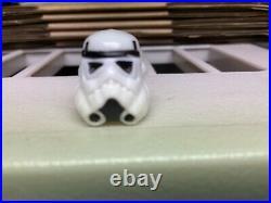 Vintage Kenner Star Wars last 17 Luke stormtrooper ORIGINAL HELMET ONLY LOOK