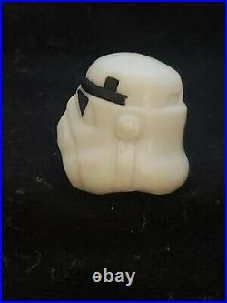 Vintage POTF Star Wars last 17 Luke Stormtrooper Disguise Helmet Original Kenner
