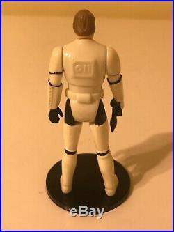 Vintage Star Wars Kenner 1984 Luke As Stormtrooper Last 17 Figure! No Helmet