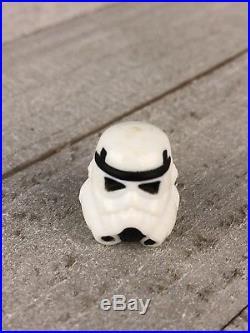 Vintage Star Wars Luke Stormtrooper Disguise Helmet 100% AUTHENTIC Kenner