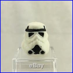 Vintage Star Wars Luke Stormtrooper Helmet 100% ORIGINAL Kenner Last 17 POTF