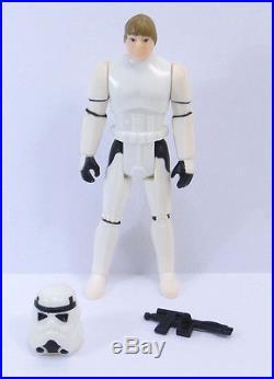 Vintage Star Wars Rare Last 17 Luke Stormtrooper With Original Blaster & Helmet